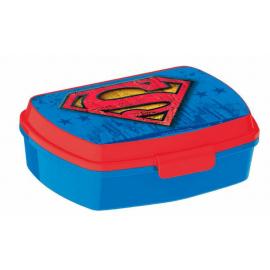 LUNCH BOX breakfast box for LUNCH SNACK sandwich school, kindergarten child Superman