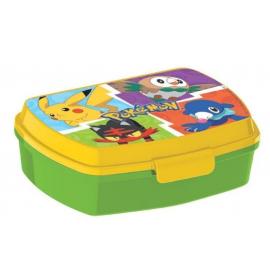LUNCH BOX breakfast box for LUNCH SNACK sandwich school, kindergarten child Pokemon