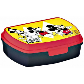 Mickey Mouse 90 LUNCH BOX breakfast box for LUNCH SNACK sandwich school, kindergarten child