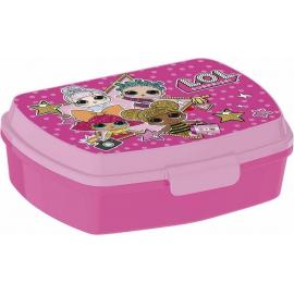 Lol Pink LUNCH BOX breakfast box for LUNCH SNACK sandwich school, kindergarten child