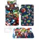 Spiderman 4 Pieces Set Single Bed Duvet Cover, Pillowcase + Sheets under + Carpet