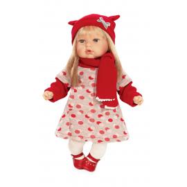 NINES D'ONIL Newborn Doll 45 cm Addis pink Perfumed