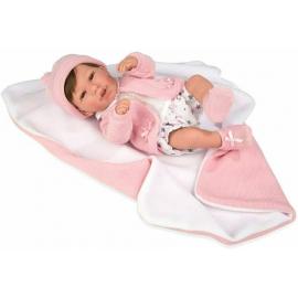 NINES D'ONIL Newborn Doll 45 cm Tai Asiatica Perfumed