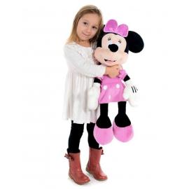 Minnie Mouse 54cm Disney Gigante Peluche Rosa Classico Bambini Ragazzi Adulti