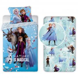 Frozen Family new 3 Pieces Set Single Bed Duvet Cover, Pillowcase + Sheets under