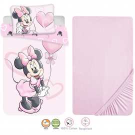 Disney Aristogatti Minou 3 Pieces Set Child Bed Duvet Cover, Pillowcase + Sheets under