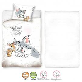 Disney Looney Tunes 3 Pieces Set Child Bed Duvet Cover, Pillowcase + Sheets under