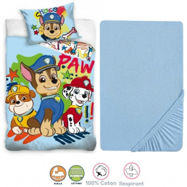 Disney Tom and Jerry 3 Pieces Set Child Bed Duvet Cover, Pillowcase + Sheets under
