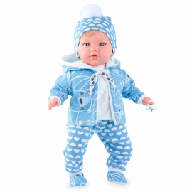 NINES D'ONIL Newborn Doll 45cm I Scented + Pacifier Girl