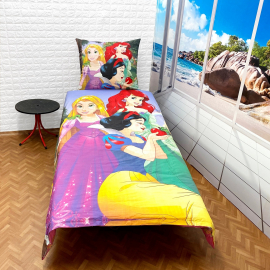 Mickey Mouse Disney Disney set of sheets single bed DUVET COVER 160x200cm Cotton World