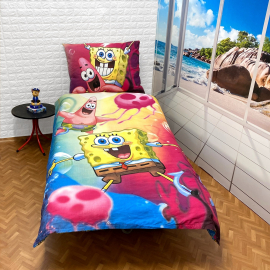 Mickey Mouse set of sheets single bed DUVET COVER 140x200cm