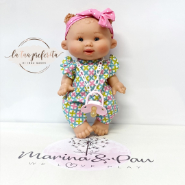 NINES D'ONIL Pepotes Doll 28 cm Perfumed
