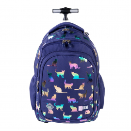 St.Right Sky Unicorn Backpack Trolley School Trolley for Girl
