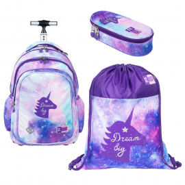 St.Right Desert Moro Set Backpack Trolley School Trolley for Boys