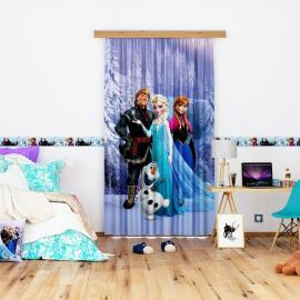 Disney snow-white Voile Curtain for Children's Room, 140x245cm