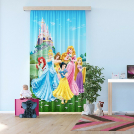 Disney Frozen Voile Curtain for Children's Room, 140x245cm