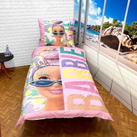 Doll set of sheets single bed DUVET COVER 140x200cm