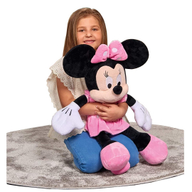 Plush Disney Minnie Classic 80cm Pink Glitter Original Girl Girl