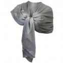 Elegant Silk Scarf Shawl Foulard, Woman Shrug Ceremony