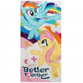 My Little Pony 100% Cotton Towel Beach Towel 70x140cm Children