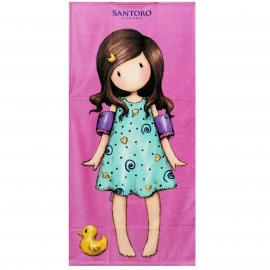 Gorjuss Santoro 100% Cotton Towel Beach Towel 75x150cm Children