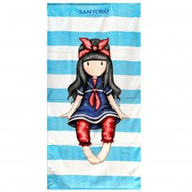 Gorjuss Santoro 100% Cotton Towel Beach Towel 70x140cm Children