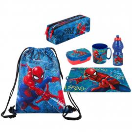 Disney Minnie mouse Set Bag Bag Backpack Plate Box Holder Water Bottle Cup