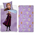Frozen Anna 3 Pieces Set Single Bed Duvet Cover, Pillowcase + Sheets under