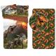Jurassic World Vulcano 3 Pieces Set Single Bed Duvet Cover, Pillowcase + Sheets under