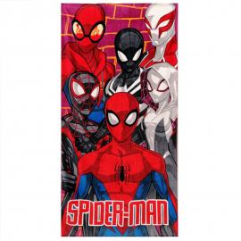Spiderman 100% Cotton Towel Beach Towel 70x140cm Children