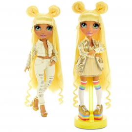 Rainbow High Blue Collectible Doll Double Outfit With Accessories and Support Ser1