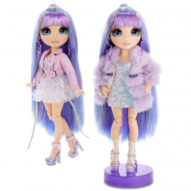 Rainbow High Yellow Collectible Doll Double Outfit With Accessories and Support Ser1