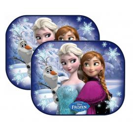 Frozen Anna Elsa Olaf set 2 Tendine Tende Parasole auto finestrino Bambini