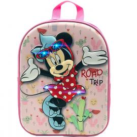 Minnie Mouse Disney Anguria Zainetto Zaino 3D Scuola Materna Asilo tempo Libero