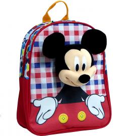 Minnie Mouse Disney Blu Led Zainetto Zaino 3D Scuola Materna Asilo tempo Libero