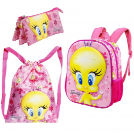 Looney Tunes Bugs Bunny Backpack 3D Backpack, Sports Bag, School