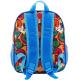 Spiderman Spider-Man Schoolbag 3D Backpack Kindergarten Kindergarten free time