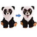 Feisty Pets Soft Panda Bear Soft Toy Transformable Into Bad Kids Adults
