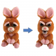Feisty Pets Soft Christmas bear Soft Toy Transformable Into Bad Kids Adults
