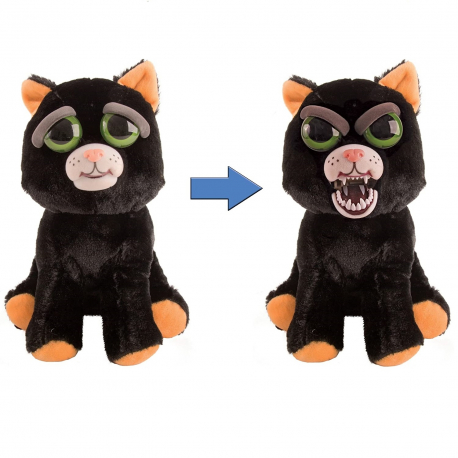 Feisty Pets Soft Bunny Soft Toy Transformable Into Bad Kids Adults