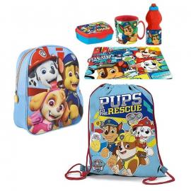 Paw patrol Set Backpack 3D Backpack, Sports Bag, School Kindergarten Holder