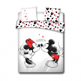 Dinsey Minnie Mouse set of sheets single bed DUVET COVER 200x200cm